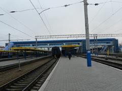 dp.uz.gov.ua: На залізниці нагородили працівників, які відзначились на будівництві конкорсу