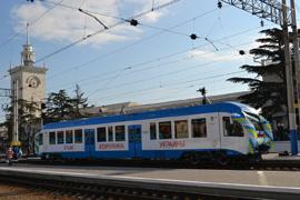 dp.uz.gov.ua: У рейковому автобусі на території Криму вже проїхало близько 34 тисяч пасажирів
