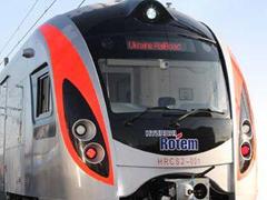 dp.uz.gov.ua: На швидкісні поїзди «Хюндай» пасажири оформили 725 квитків