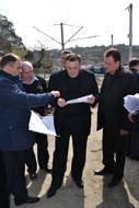 dp.uz.gov.ua: Кримські об'єкти залізниці інспектувала спільна комісія підприємства та УЗ