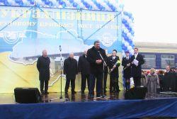 dp.uz.gov.ua: Відкрито рух Рядова–Грекувата та міст 27 км.