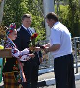 dp.uz.gov.ua: Президент України нагородив придніпровських залізничників