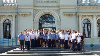 dp.uz.gov.ua: Мінська дитяча залізниця вперше прийняла українських колег – юних залізничників Запоріжжя