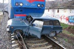 dp.uz.gov.ua: На залізниці у 2014 році подвоїлася кількість ДТП  з вини водіїв автотранспорту