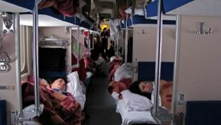 dp.uz.gov.ua: Пасажирам Придніпровської магістралі у 2014 році надано понад  3,7 млн комплектів постільної білизни