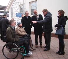 dp.uz.gov.ua: Вокзал Дніпропетровськ-Головний приймав іноземних експертів