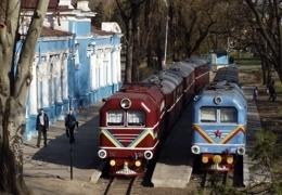 dp.uz.gov.ua: Протягом травневих свят дитячі залізниці Придніпровської магістралі перевезли 13 тисяч пасажирів