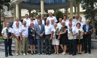 dp.uz.gov.ua: Майже 200 придніпровських залізничників отримали нагороди до Дня Конституції