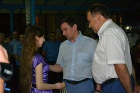 dp.uz.gov.ua: На центральному вокзалі Запоріжжя вітали першого пасажира поїзда Запоріжжя-Київ