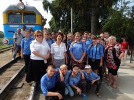 dp.uz.gov.ua: Юні залізничники із Запоріжжя відвідали Луцьку та Рівненську дитячі залізниці
