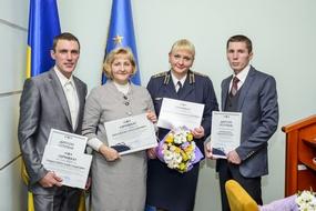 dp.uz.gov.ua: Придніпровські залізничники – переможців галузевих конкурсів отримали нагороди Укрзалізниці