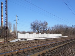 dp.uz.gov.ua: Проблему комфортної посадки (висадки) пасажирів приміських поїздів на 162 км перегону Канцерівка – Дніпробуд-2 вирішено
