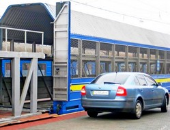 dp.uz.gov.ua: Придніпровська залізниця пропонує перевезення легкових автомобілів на Київ, Львів та Одесу і зворотно
