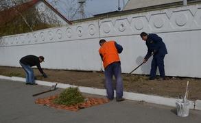 dp.uz.gov.ua: Придніпровські залізничники добре попрацювали у День довкілля
