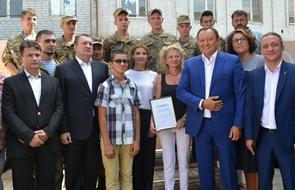 dp.uz.gov.ua: За сприяння Придніпровської залізниці волонтерський центр «Солдатський привал» у місті Запоріжжя розширився ще на один поверх