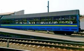 dp.uz.gov.ua: За вісім місяців на Придніпровській залізниці кількість перевезених автомобілів збільшилася вдвічі