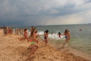 dp.uz.gov.ua: На відпочинок до Азовського моря вирушили 450 дітей придніпровських залізничників