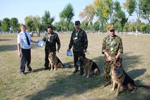 dp.uz.gov.ua: На Придніпровській  залізниці змагалися службові собаки
