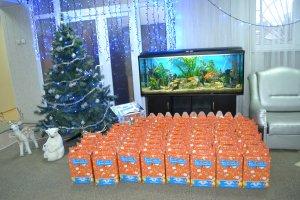 dp.uz.gov.ua: На Миколая придніпровські залізничники зробили подарунки дітворі з особливими потребами