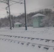 dp.uz.gov.ua: Попри погіршення погодних умов придніпровські залізничники забезпечують стабільний рух поїздів