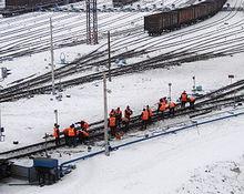 dp.uz.gov.ua: Придніпровські колійники працюють на основних напрямках руху