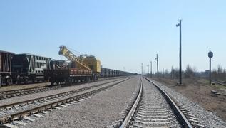 dp.uz.gov.ua: Придніпровські залізничники достроково виконали роботи з колійного розвитку станції Комиш-Зоря