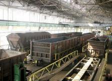 dp.uz.gov.ua: За чотири місяці придніпровські залізничники відремонтували майже 2,4 тис. вантажних вагонів