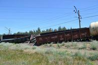 dp.uz.gov.ua: Щодо ліквідації наслідків сходження з рейок вантажного поїзда на станції Нижньодніпровськ-Вузол