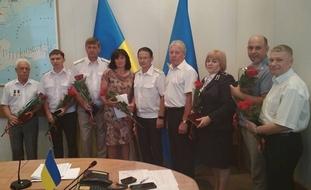 dp.uz.gov.ua: З нагоди Дня Конституції України на Придніпровській магістралі відомчими та дорожніми відзнаками заохочено 140 залізничників