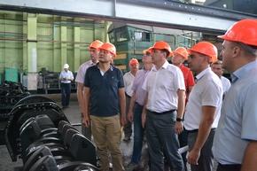 dp.uz.gov.ua: Експерти General Electric рекомендуватимуть Мелітопольське локомотивне депо як основну базу сервісного обслуговування локомотивів General Electric