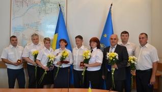 dp.uz.gov.ua: До Дня незалежності України на Придніпровській залізниці  відзначили кращих працівників