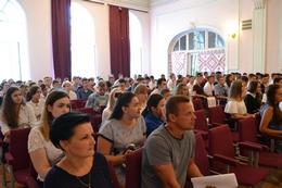 dp.uz.gov.ua: Керівництво Придніпровської залізниці привітало першокурсників профільних навчальних закладів