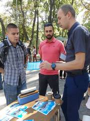 dp.uz.gov.ua: На фестивалі вакансій для ветеранів АТО, який пройшов у м. Дніпрі, залізничні професії були серед найбільш популярних