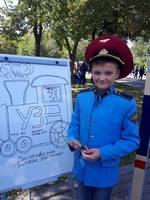 dp.uz.gov.ua: Юні дніпряни приміряли на собі залізничні професії