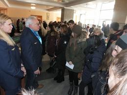 dp.uz.gov.ua: У Кривому Розі пройшов профорієнтаційний захід для випускників шкіл