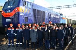 dp.uz.gov.ua: На Придніпровській залізниці відправили у рейс перший тепловоз General Electric