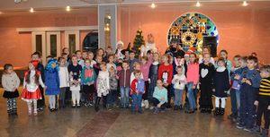 dp.uz.gov.ua: Святий Миколай приніс сюрпризи дітям придніпровських залізничників