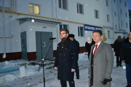 dp.uz.gov.ua: У м. Синельникове завершено будівництво ще двох житлових секцій для родин залізничників