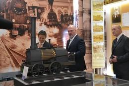 dp.uz.gov.ua: В управлінні Придніпровської залізниці відкрили оновлений дорожній  музей