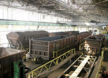 dp.uz.gov.ua: З початку 2019 року придніпровські залізничники відремонтували  понад 2 тис. вантажних вагонів