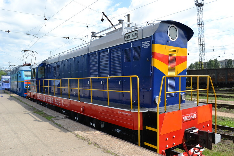 dp.uz.gov.ua: На Придніпровській залізниці пройшла виставка локомотивів