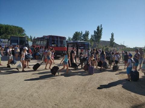dp.uz.gov.ua: Діти придніпровських залізничників відкрили літній                          сезон відпочинку