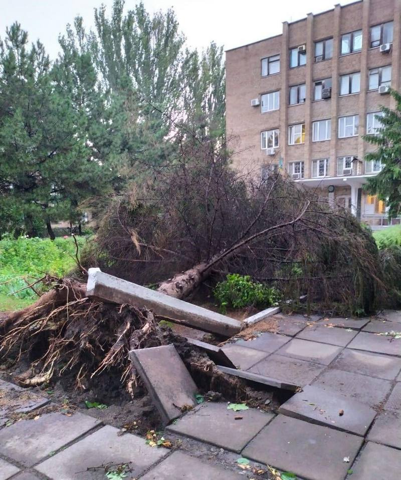 dp.uz.gov.ua: На Придніпровській залізниці тривають роботи з ліквідації наслідків буревію