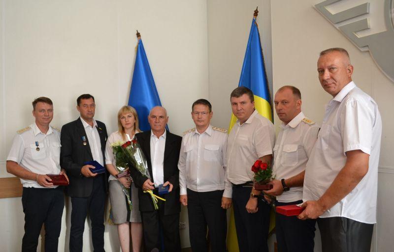 dp.uz.gov.ua: До Дня Незалежності України придніпровські залізничники отримали галузеві нагороди
