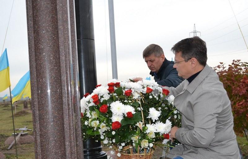 dp.uz.gov.ua: До Дня захисника України на Придніпровській залізниці вшанували  загиблих воїнів АТО