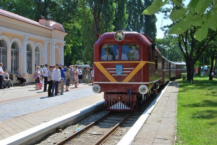 dp.uz.gov.ua: Цього року Дніпровська дитяча залізниця перевезла                           майже 16 тисяч пасажирів