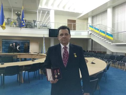 dp.uz.gov.ua: Представник Придніпровської залізниці отримав  високу державну нагороду