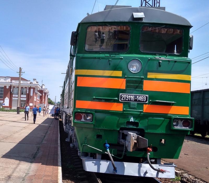 dp.uz.gov.ua: На Придніпровській залізниці пройшов огляд локомотивів, які влітку  забезпечують пасажирські й вантажні перевезення