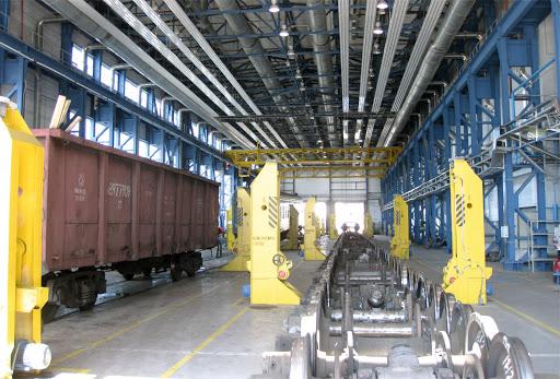 dp.uz.gov.ua: За п'ять місяців на Придніпровській залізниці відремонтували  майже 1,9 тис. вантажних вагонів