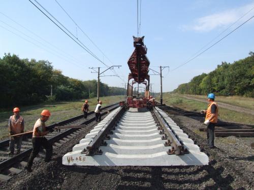 dp.uz.gov.ua: За сім місяців на Придніпровській залізниці відремонтували                        173 км колій та 163 стрілочні переводи